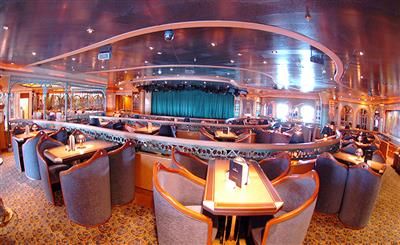 The Explorers Lounge on Crown Princess