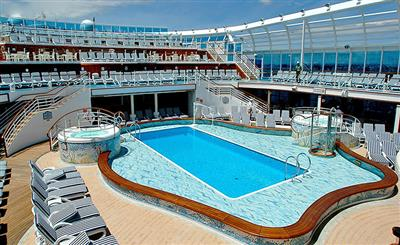 Neptune's Reef & Pool on Crown Princess