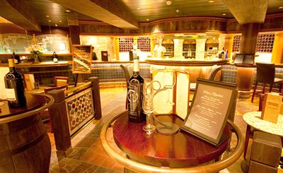 The Vines bar on Crown Princess