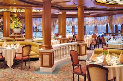 Sabatini's Italian restaurant on Crown Princess
