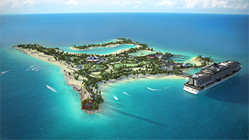 MSC create exclusive Bahamian island for guests
