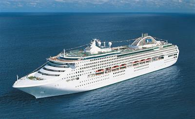 Sun Princess by Princess Cruises, exterior