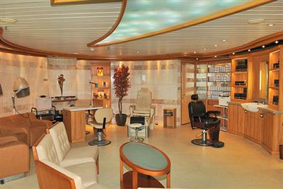 The Lotus Spa on  the Sun Princess' Riviera Deck