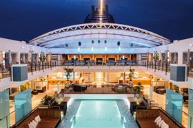 The ship pool is located on deck 9