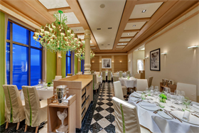 The Serenissima, Italian restaurant located on deck 4