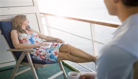 A cabin's balcony on Columbus | A ship by Cruise and Maritime