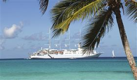 Club Med2 sailing the waters of an exotic paradise