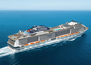 Four megaships ordered for MSC