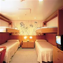 2 or 4 Beds Inside