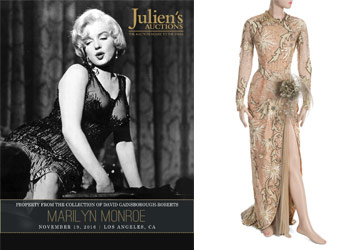 Cunard's Queen Mary 2 hosts Marilyn Monroe collections