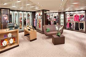 A boutique on the Seabourn Odyssey