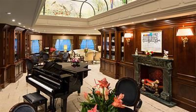Drawing Room of the Azamara Quest.