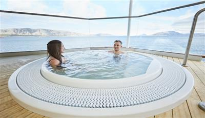 The Jacuzzi on the ship's bridge