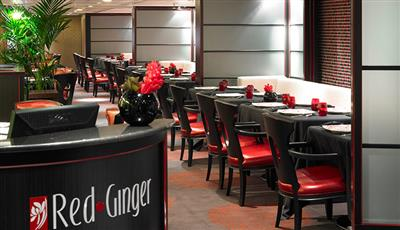 The Red Ginger, classic Asian dish  and a touch of feng shui on Oceania's Riviera