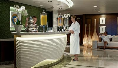 The Canyon Ranch spa Club on Riviera by Oceania Cruises
