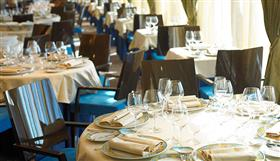 The Grand Dining room onboard Marina