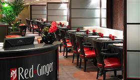 Red Ginger, the Asian cuisine venue on-board Marina