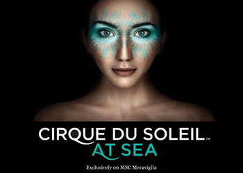 Cirque du Soleil to perform on MSC Meraviglia