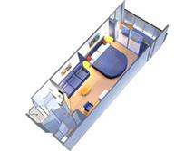 Superior Ocean View Stateroom Plan