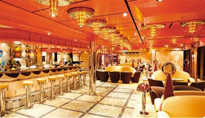 Lounge and Bar Alcazar on Costa Deliziosa