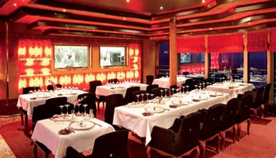 Ristorante Club Delizioso,  the  a la carte option on Costa Deliziosa