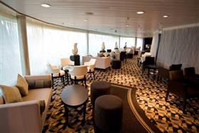 A coffee bar on Sovereign by Pullmantur