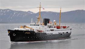 Ms Nordstjernen by Hurtigruten, exterior