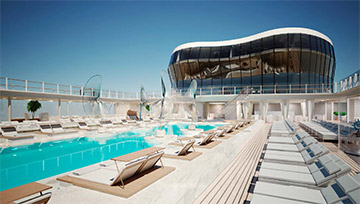 See MSC Meraviglia before anyone else