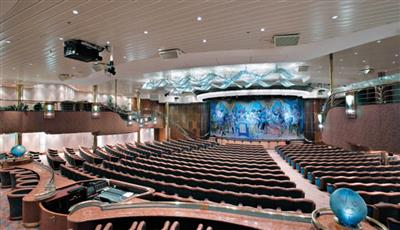 The Masquerade Theatre on the Vision of the Seas