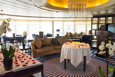 The Yacht Club, a lounge on the  cruise ship Star Legend