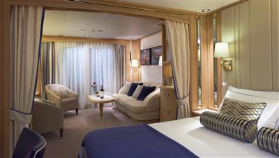 The Balcony Suite on the Star Legend