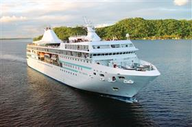 The MS Paul Gauguin, exterior