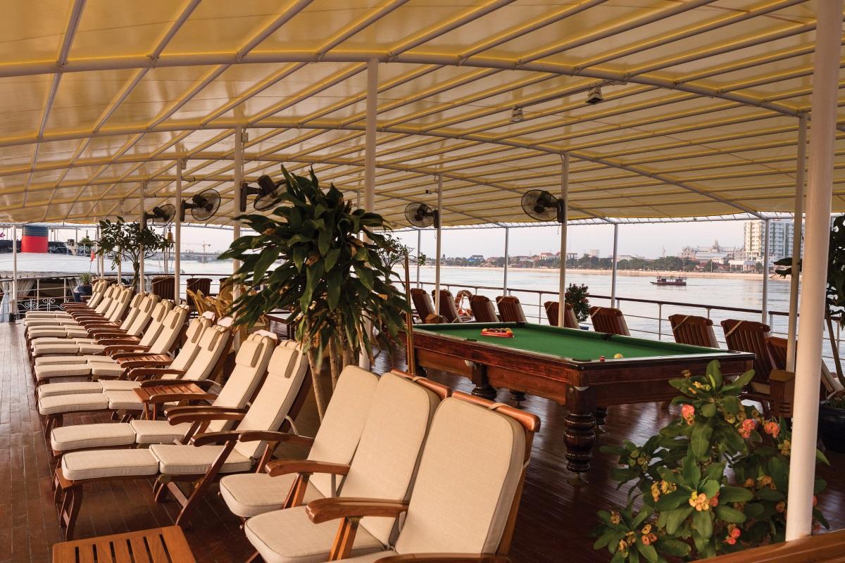 RV Mekong Pandaw sun deck