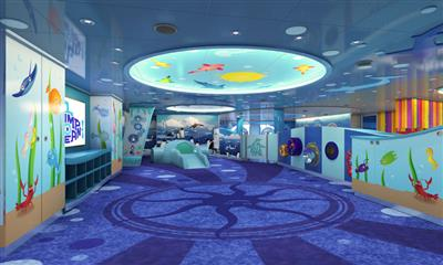 Camp Ocean on Carnival Horizon, kids keep active and have fun as they enjoy new ocean-themed activities and entertainment.