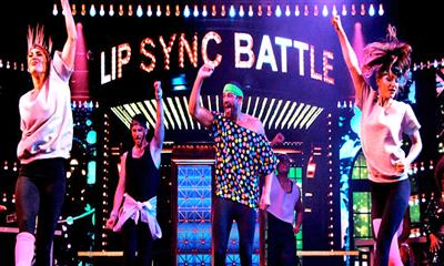 The Lip Sync Battle, a stage version of the hit Spike TV series, onboard Carnival Horizon.