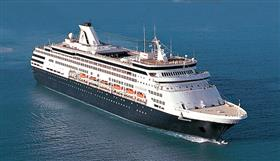 Holland America Line's MS Statendam, exterior