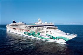 Norwegian Jade by  NCL, exterior