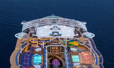 Symphony of the Seas' top deck