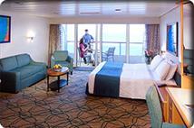 Spacious Ocean View Balcony Access