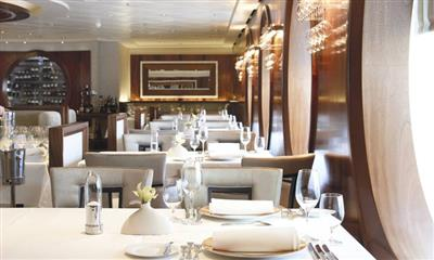 The Dining Club on Marella Explorer's deck 5