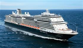 MS Koningsdam by Holland America Line, exterior