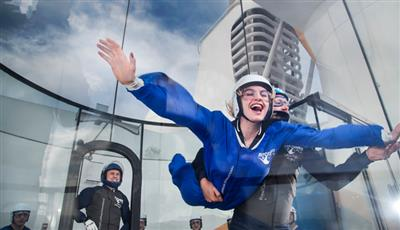 Experience zero gravity with Ripcord by iFLY on Quantum of the Seas