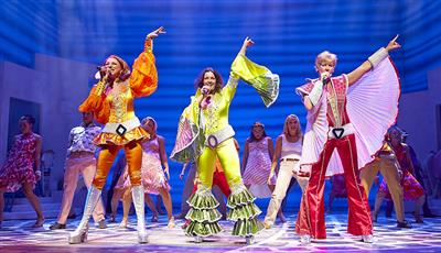 Mamma Mia!, the record-breaking show is performed on Quantum of the Seas