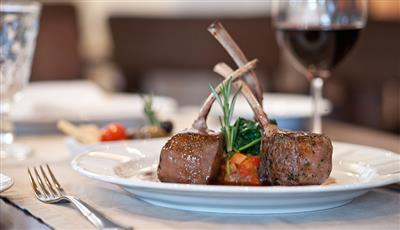 A delicious dish served on  the Oasis of the Seas