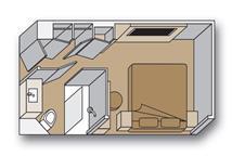 Interior Spa stateroom