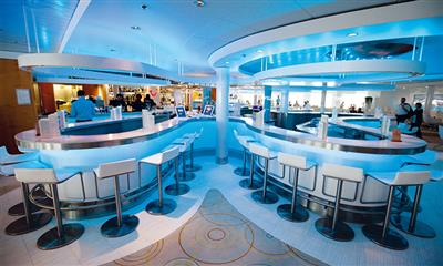 The Lounge, drinks and live music on Marella Explorer by Marella Cruises