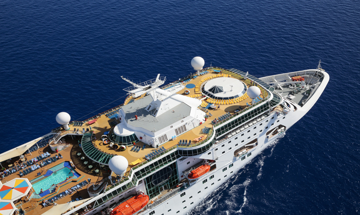 Empress of the Seas, exterior