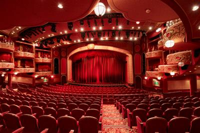 The Royal Court Theatre on decks 1 2 and 3 of the Queen Victoria