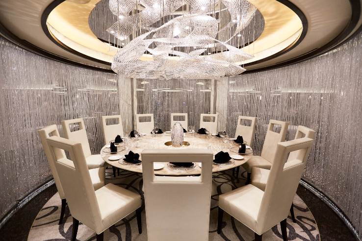The Chef's Table Lumiere, a dining adventure signedd  Majestic Princess