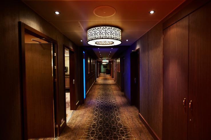 Majestic Princess' hallways
